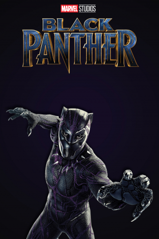 Black Panther - Chadwick Boseman  free mobile background