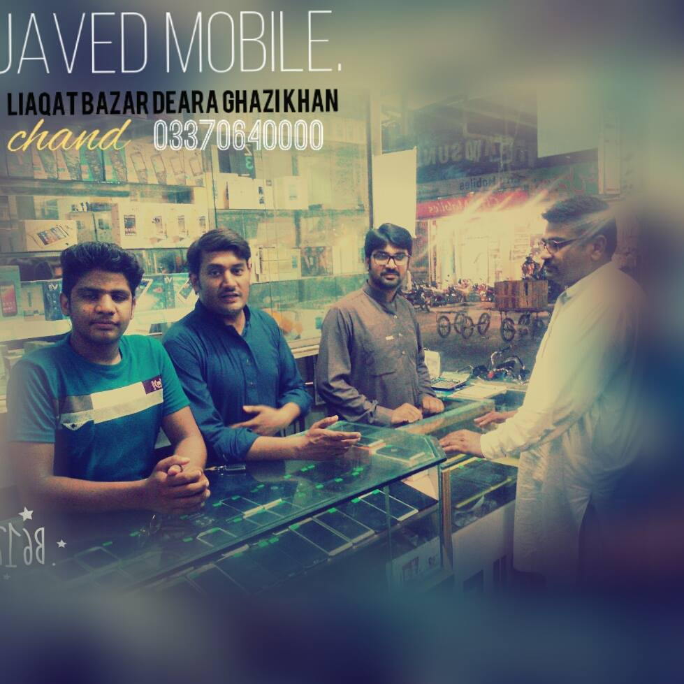 JAVED Mobiles shop cover
