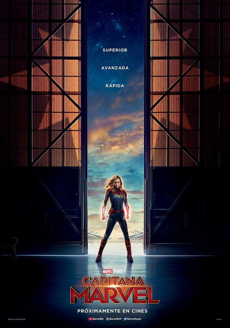 Captain Marvel Poster Download Mobile Phone Full Hd Wallpaper