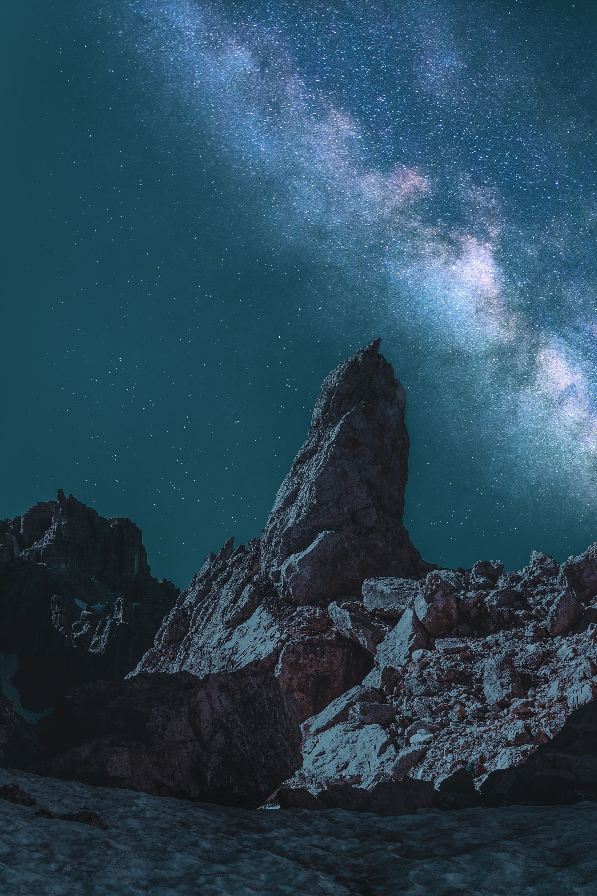 Iphone Xr Night Mountain Download Mobile Phone Full Hd Wallpaper